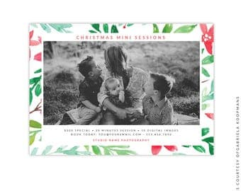 Christmas Marketing Ad - Instant download - e1521