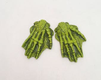 Creature from the black lagoon hairclips