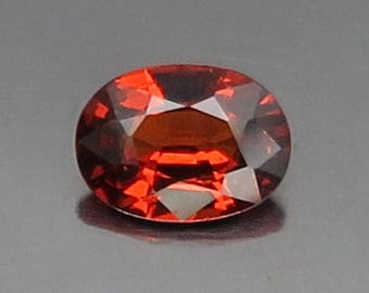 0.93 Ct Natural Garnet Spessartine Mandarin Orange