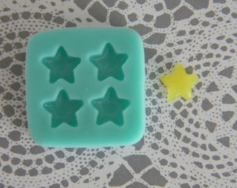 Flexible Mold- Tiny Puffy Star