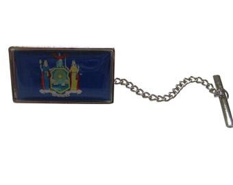 New York State Flag Tie Tack
