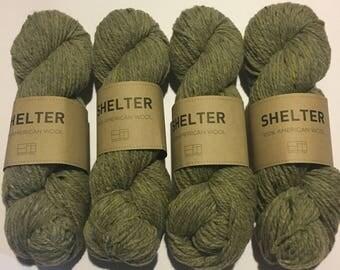 4 Skeins of Brooklyn Tweed Shelter Targhee Wool Destash