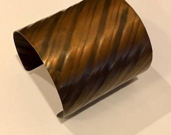 Handmade Copper Cuff Bracelet