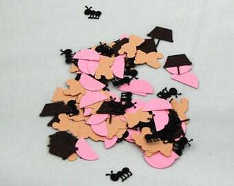 Teddy Bear Picnic Birthday Confetti (100 pieces)