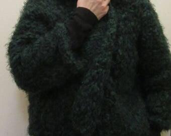 Shawl collar cardigan ( jacket style)- Size S