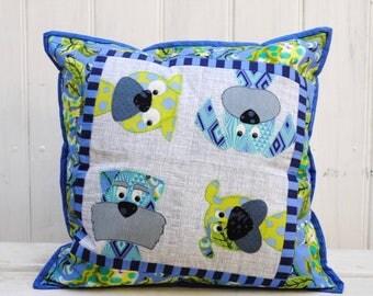Woofers PDF cushion pattern