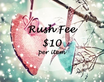 ShoreCrafty Rush Fee Last Minute Rush 1 - 2 Day Processing Time