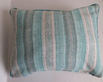 Turquoise Grey Stripes PC 1105