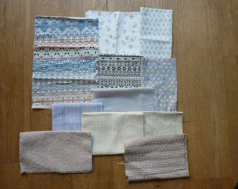 set of fabrics for patchwork 89 coupons