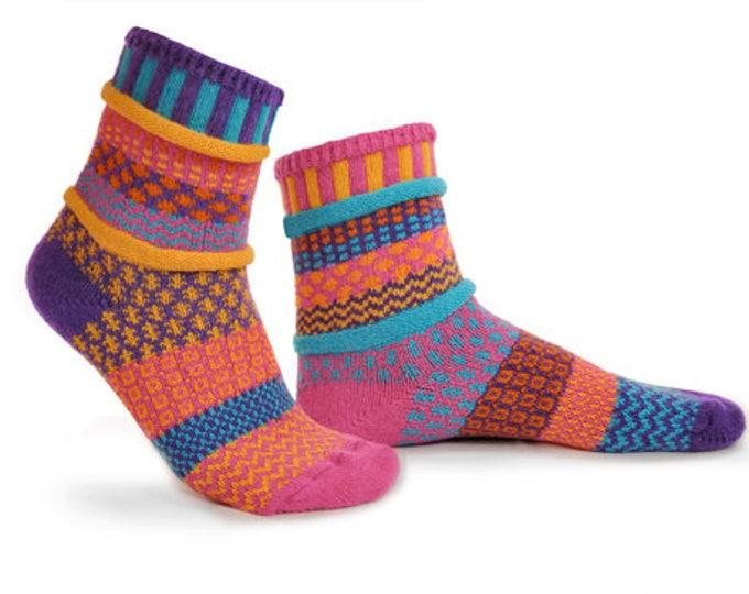 Solmate Socks - Carnation Crew