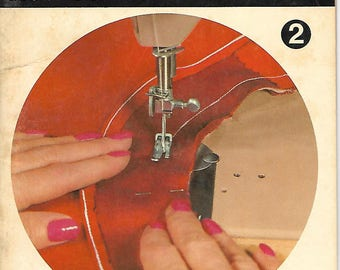 """McCall's Step-By-Step Booklet #2 """"How To Face A Neckline"""" 1967"""