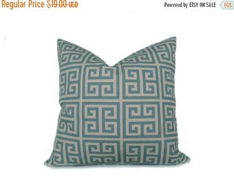 15% Off Sale Decorative Pillow Cover  Pillow Covers - Blue Pillows - 20x20 Pillow Covers - Cushions For couch - Accent Pillows - Toss Pillow