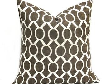 15% Off Sale Euro Sham Euro Pillow Cover, Brown Pillow covers, Brown Pillows,  Euro Pillow Sham, Euro Pillows,  Decorative pillows