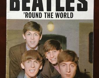 1964 Beatles Round the World No. 1 magazine.