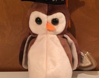Graduation Owl, Wise, Beanie Baby.