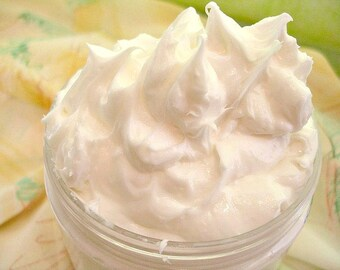 Body Butter AMBROSIA FIZZ - Whipped Cream Body Luxury Body Butter - Champagne & Fruit - Handmade 4oz Body Butter - 8oz Body Butter