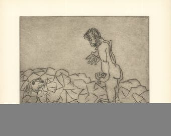 Ben-Zion-Gilgamesh Meets Deceased Enkidu's Shadow, Inquires About Death (XXXVI)