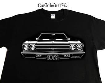 1969 Chevelle SS 396, El Camino SS T-Shirt