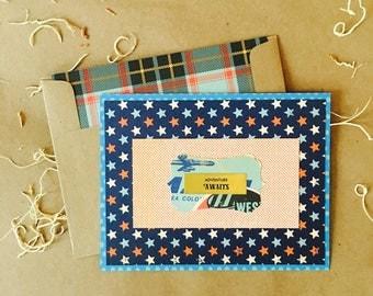 Jet Setter {Note Card} ~ single or sets