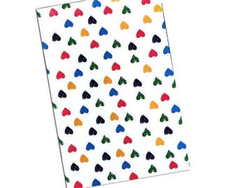 "On Sale 10"" x 13"" Rainbow Hearts FLAT POLY MAILERS Postal Approved Mailers  (100 Pack)"