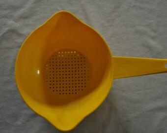 Tupperware Yellow Strainer