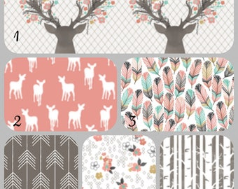 Fawn and Feathers Curtains