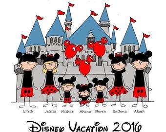 Disney Family Shirts - Family Shirts for Disney - Disney Family Vacation Shirts - Matching family Disney Shirts - Disney World Family Shirts