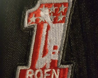 Final Fantasy FFXV Prompto Roen 1 Vest Iron/Sew on Patch