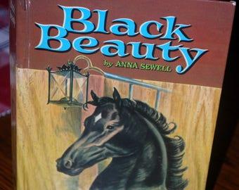Black Beauty hardback book Whitman edition by Anna Sewell 1955