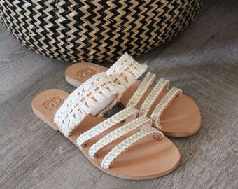 Wedding Sandals. Leather Sandals. Boho Wedding sandal. Strap Sandals. Greek Sandals. Wedding Gift. Bridesmaids sandals. Beach Wedding Sandal