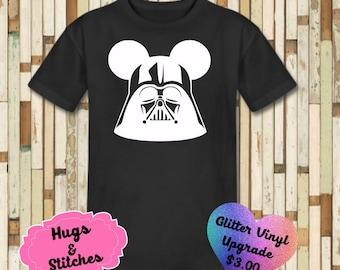 Mickey Darth Vader Disney Shirt