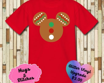 Mickey Gingerbread  Shirt