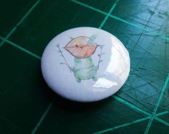 Buttons 1 inch badge Link Korok Breath of the Wild Gift Art Print  Zelda Nintendo BOTW Game Videogame Bokoblin Guardian