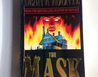 The Mask by Dean Koontz, 1989, vintage paperback, horror