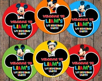 "Mickey Mouse 7"" Circles"