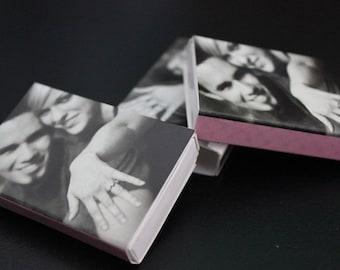 400 Photograph Matchbox Wedding Favors