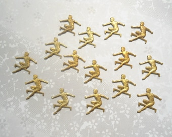 16 Brass 14mm Olympic Hurdlers