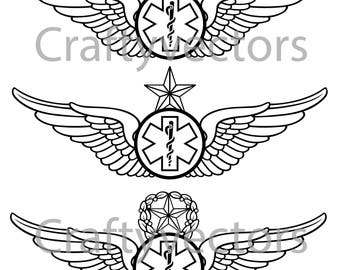 Army Emergency Medical Technician Vector File