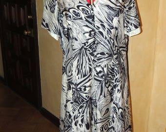 Pop Art Dress by Mr. Blackwell