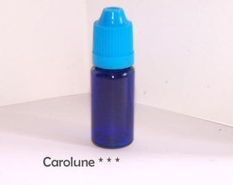 10 ml bottle of liquid glass to fill clear blue