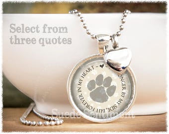Pet Loss • Urn Necklace • Pet Cremation Jewelry • Pet Urn Jewelry • Dog Urn • Cat Memorial • Remains Necklace
