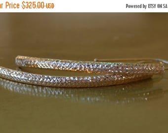 DEADsy LAST GASP SALE 14K Gold Earrings, Solid Gold Earrings, Swirly Pendant Earrings
