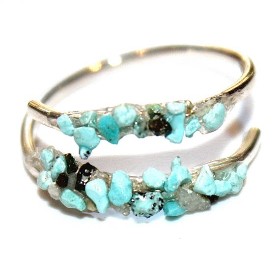 Crushed Turquoise Ring