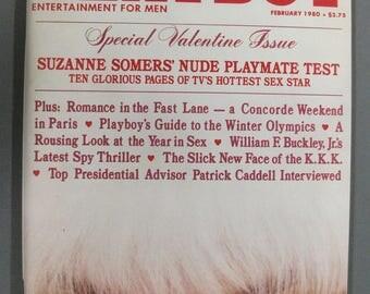 Playboy Magazine:  February 1980 Valentine Issue