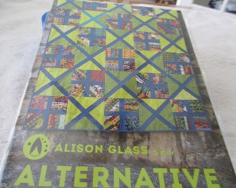"""Paper Pattern for a quilt called Alternative by Alison Glass 53"""" x 64"""""""