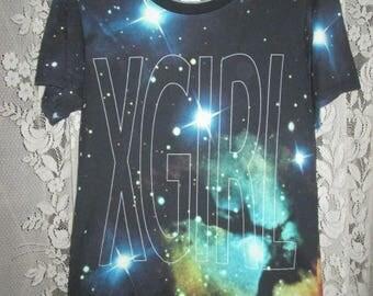 Vintage X-Girl Sonic Youth Allover print T-shirt Original