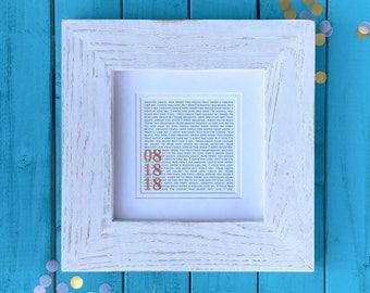 Personalized Wedding Gift | Personalized Wedding Gifts | Personalized Wedding Gift for Husband | Personalized Wedding Gift Men Women