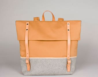 Backpack  MILO / rusted orange