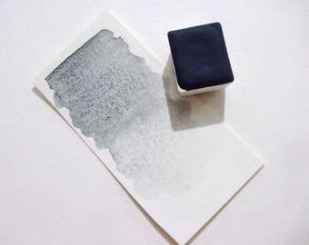 Grey Vivianite  - Handmade Watercolor Paint - Gemstone Paint - Artist Gift - Art Paint - Handcrafted Professional Watercolour