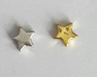 Gold or Silver Star Floating Charm - Origami Owl - Living Locket